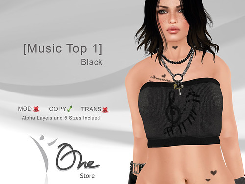 Music Top 1 Black
