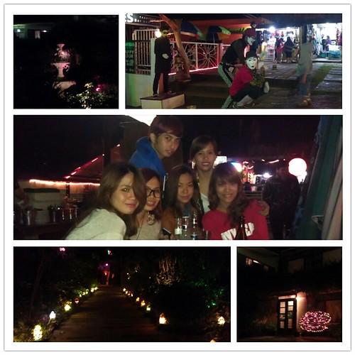 experiencing Tagaytay night life