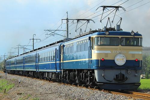 EF65 501 @駒形〜伊勢崎
