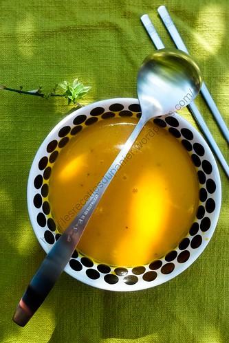 Soupe Thaï au potiron / Thaï Pumpkin Soup