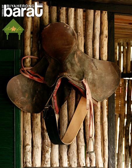 Saddle in Sanafe Lodge