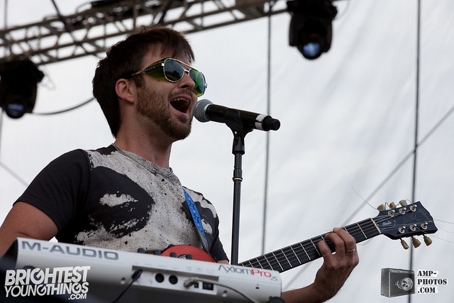 Dismemberment Plan play Virgin Freefest '12