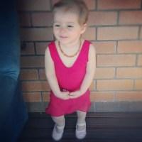Miss A's first ballerina uniform