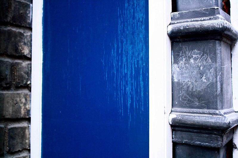 bricks, blue and grey