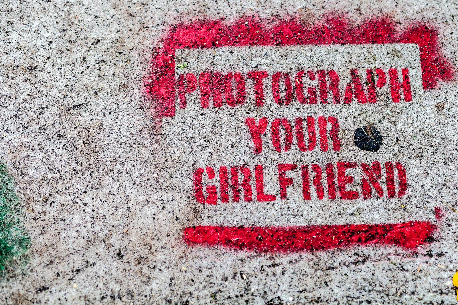 photograph your girlfriend by wwward0