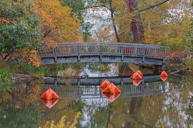 Art below the Bridge