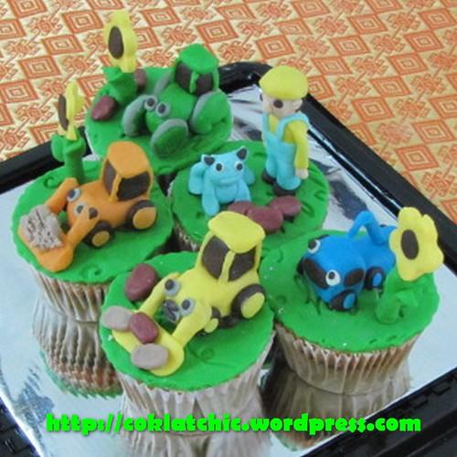 Cupcake Bob the Builder