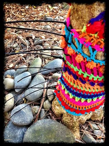 Yarn Bomb - My Tree