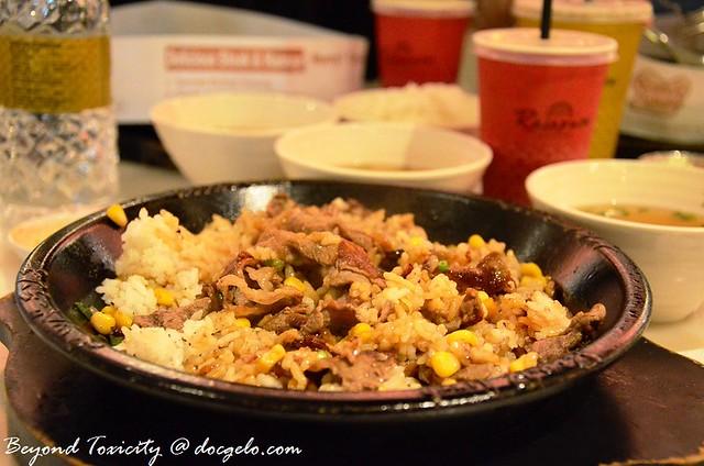 pepper lunch beef pepper rice