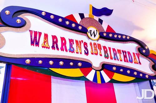 Warren 1st Bday Party
