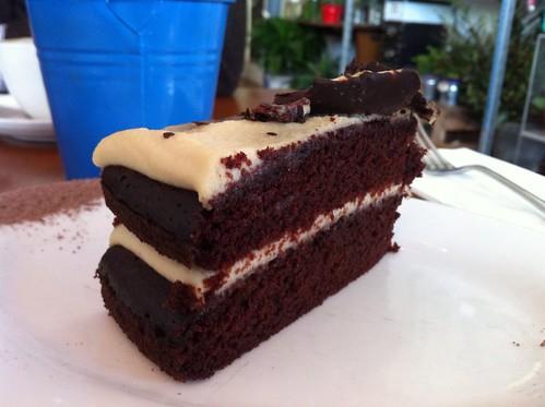 chocolate cashew cake