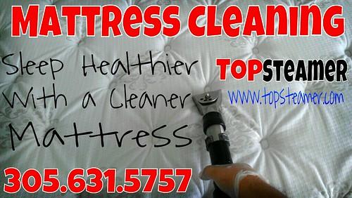 Mattress Cleaning Mami Beach by topsteamer