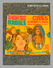 Croton's Serioustoyz, Hasbro showbiz babies, dolls, 1966-1967 Mama Cass of the Mamas and the Papas