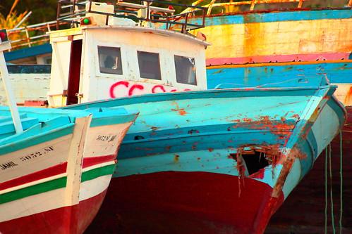 cemetery boat by Rossella Sferlazzo