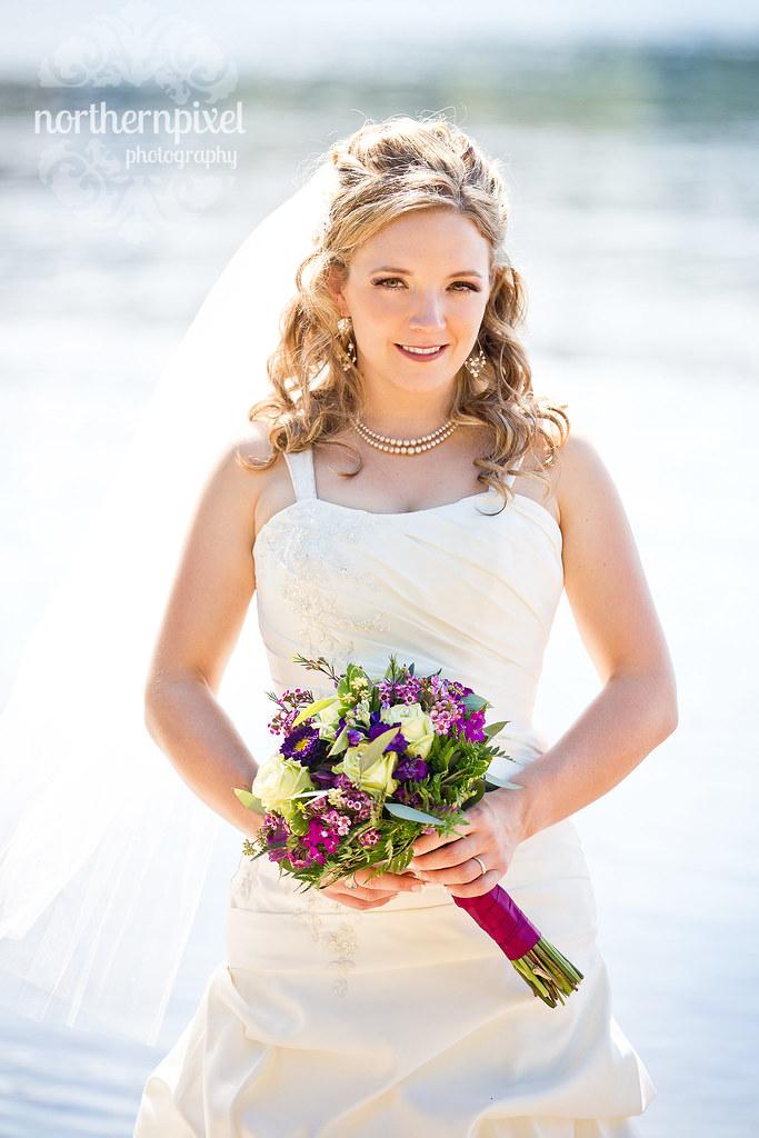 Beautiful Bride - Norman Lake BC