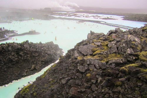 Lava Field at Blue Lagoon