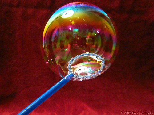 Day 271 Bubble Self Portrait by pixygiggles