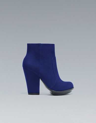 Zara - Royal Blue Boots!