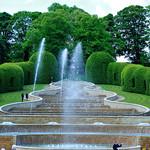 Alnwick Gardens Fountain spray