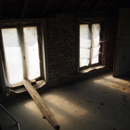 Fenêtres de la chambre avant mutation