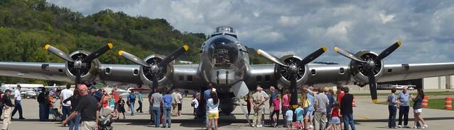 B-17, Nose-On