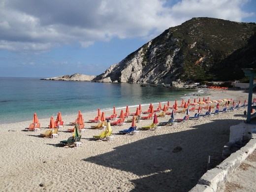 Petani Beach Kefalonia Greece