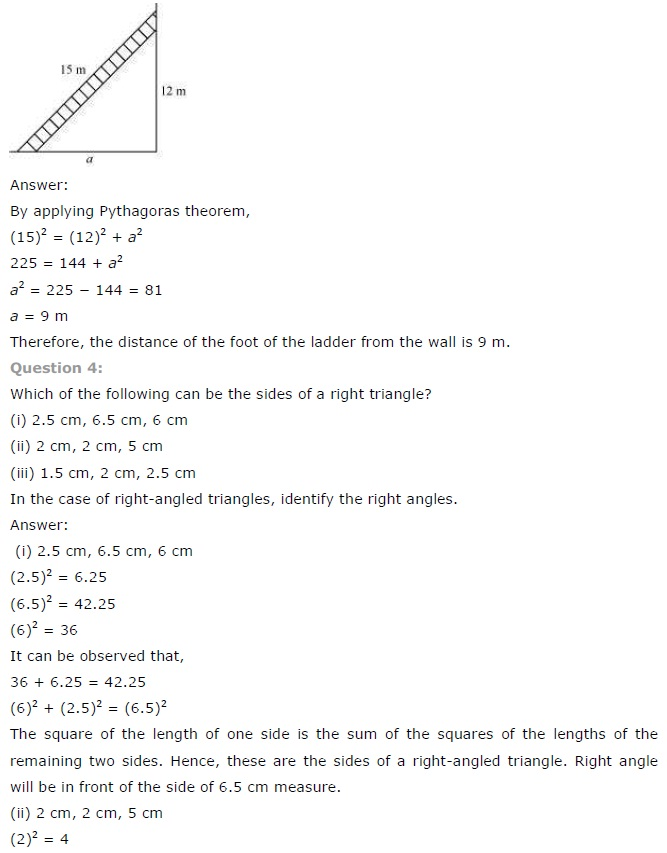 NCERT Solutions for Class 7th Maths Chapter 6 The The-Triangle-and-its-Properties Exercise 6.5