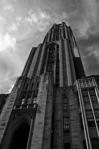 Cathedral of Learning by dogfrog