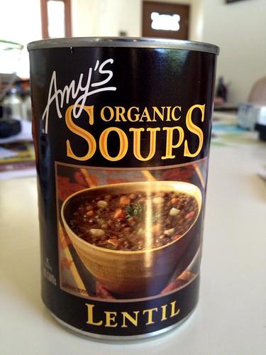 Amy's Organic Soups Lentil
