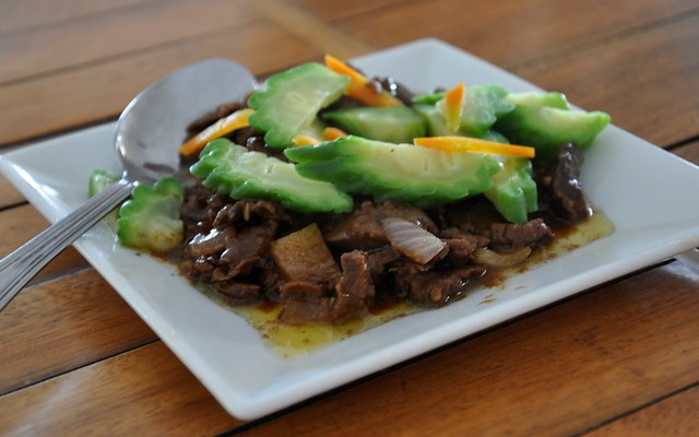 Beef with Ampalaya
