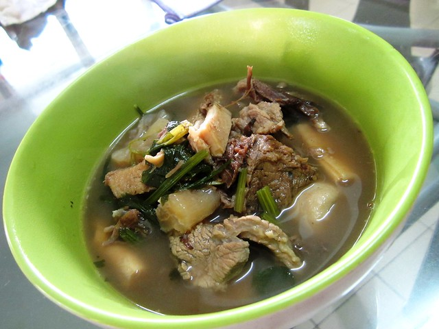 Jalan Ipoh beef noodle soup