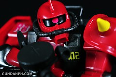 HCM MS-06R-2 Johnny Ridden's Zaku-II (144 scale) 1984 make (62)