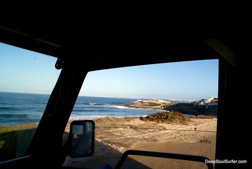First Light Of Peniche, Surf Spot