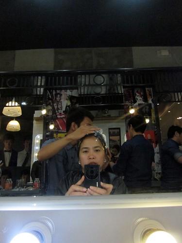 at F&H Famous Hair Salon