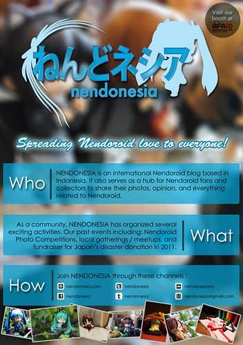 Nendonesia flyer / leaflet