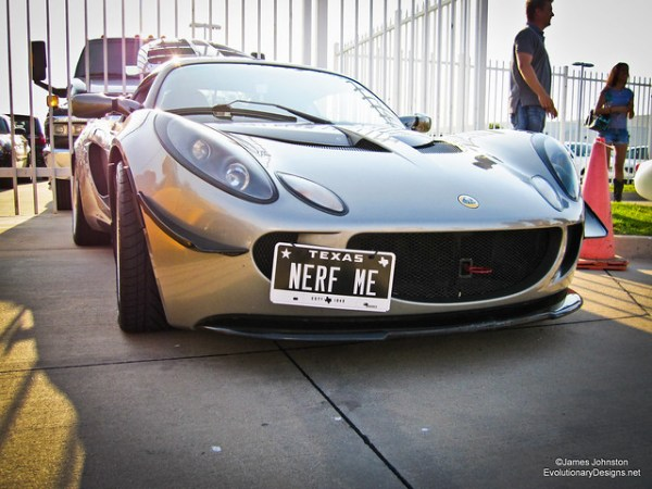 Nerf Me! A Sliver Lotus - Cars and Coffes Dallas Texas