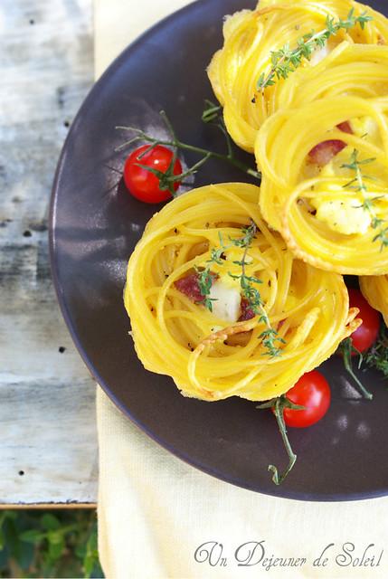 Frittata di pasta imbottita