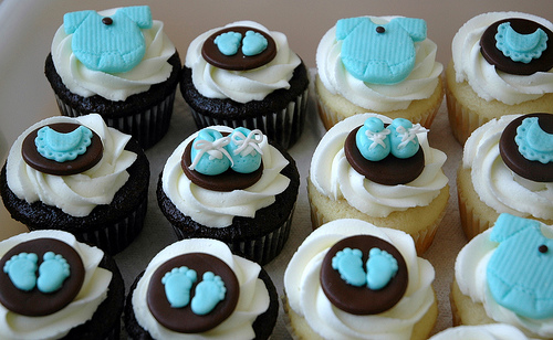 Ideas Decoracin Y Recetas De Cupcakes Para Baby Shower Blogichef
