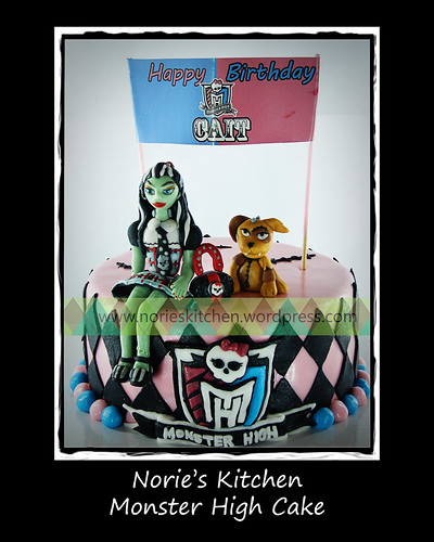 Norie's Kitchen - Monster High Cake by Norie's Kitchen