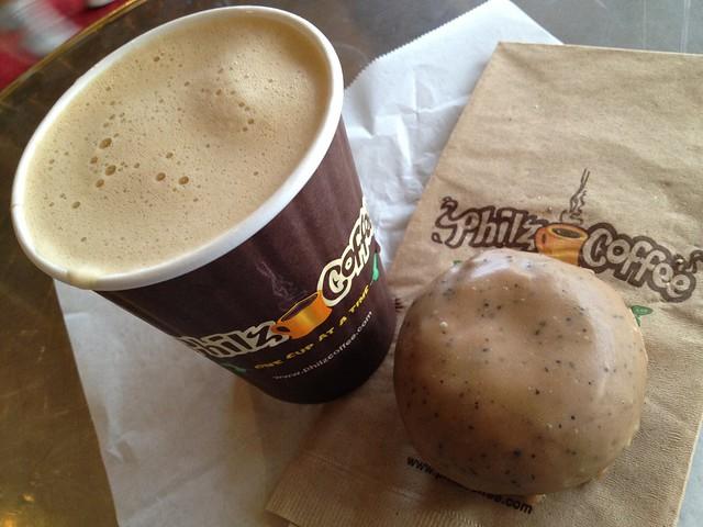 Maple donut - Philz Coffee