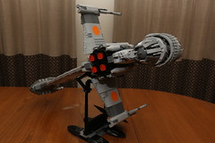 10227 B-wing Starfighter Review - 10