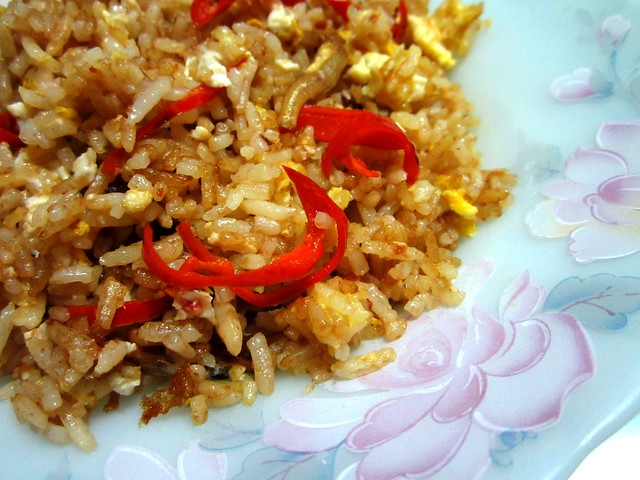 STP's belacan fried rice 1