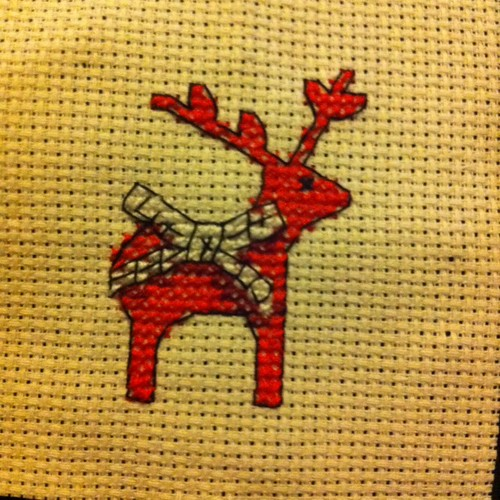 Completed Reindeer - One Down Two to Go