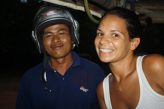 Chan, Our Tuk Tuk Driver in Siem Reap