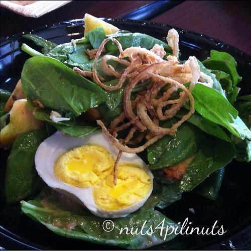 Heirloom Tomato & Salted Duck Egg Salad | Flip Night @thepointfeedsme #thepointfeedsme #filipinofood