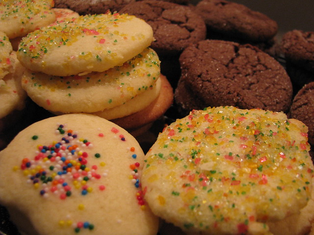 Sugar Cookies & Chocolate Cookies