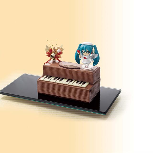 Nendoroid Petite Hatsune Miku: Christmas Piano Cake version