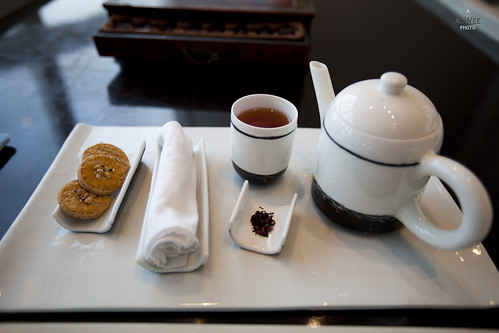 Post-Massage Snacks and Tea