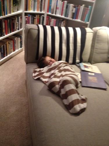sleeping upstairs by telfandrea
