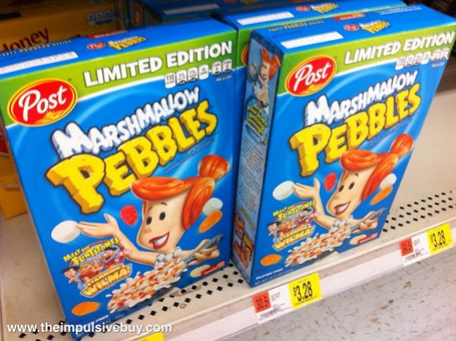 Limited Edition Marshmallow Pebbles